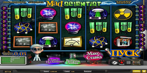 Обзор слота Mad Scientist