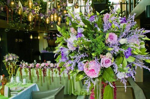Идеи цветочных композиций на свадьбу